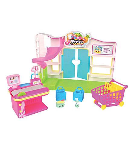 SHOPKINS Small supermarket playset