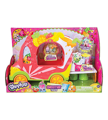 SHOPKINS Shoppies smoothie truck playset