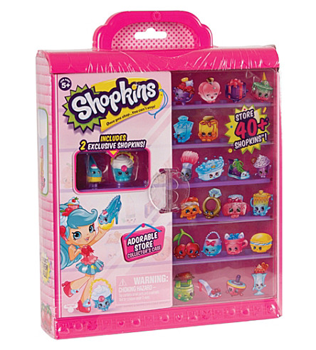 SHOPKINS Shopkins Collector's Case playset
