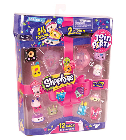 SHOPKINS Series 7 12 pack of figures