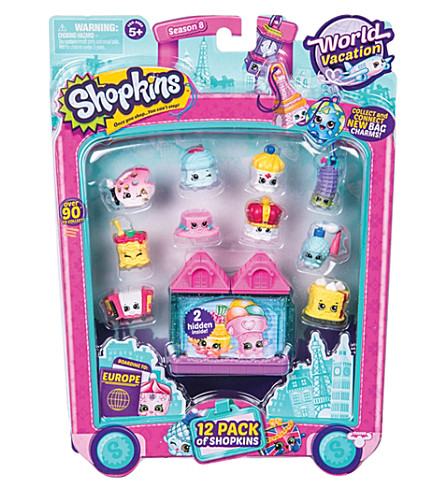 SHOPKINS World Vacation 12 pack