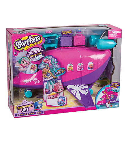 SHOPKINS Shoppies Skyanna's Jet