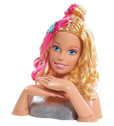 BARBIE Barbie deluxe styling head flip and reavel