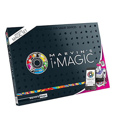 MARVINS MAGIC Imagic interactive box of tricks