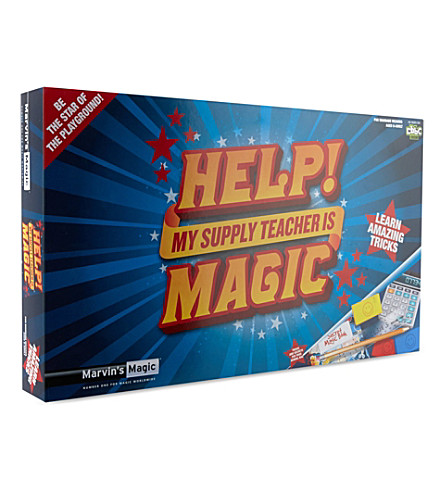MARVINS MAGIC Help! My Supply Teacher Is Magic game