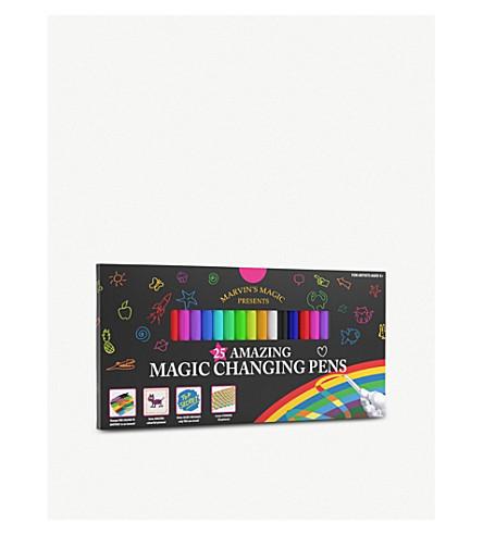 MARVINS MAGIC Malzauber magic pens – pack of 25