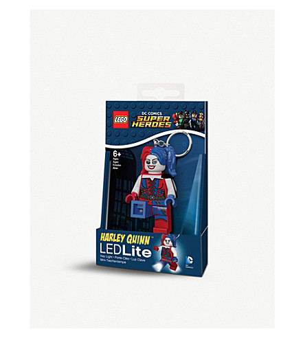 LEGO Harley Quinn LED light keyring