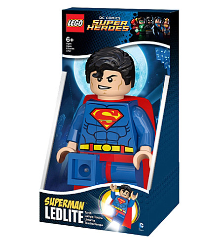 LEGO DC Superheroes Superman torch