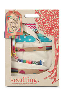SEEDLINGS Design Your Own Tote Bag kit