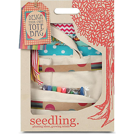 SEEDLING Denim Lovers Tote Bag making kit
