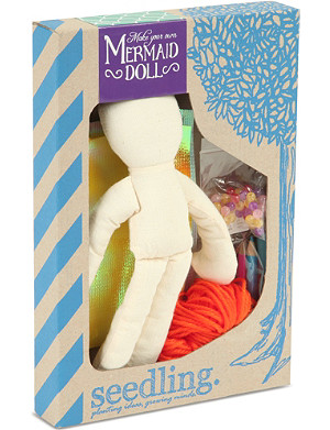 SEEDLING Make your own mermaid doll