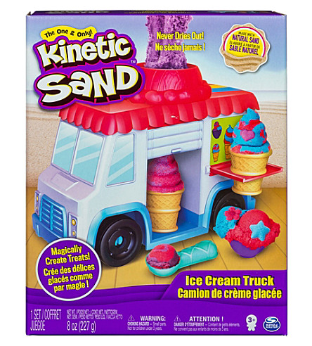 KINETIC SAND Kinetic Sand ice cream truck