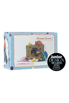 BUTTONBAG Mouse House sewing kit