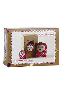 BUTTONBAG Owl House Family sewing kit