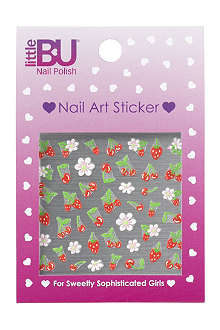 LITTLE BU Cherry nail art stickers