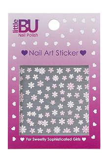 LITTLE BU Blossom nail art stickers