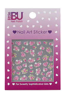 LITTLE BU Rose nail art stickers
