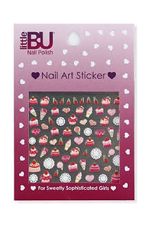LITTLE BU PRODUCTIONS Sweet Delights nail art kit