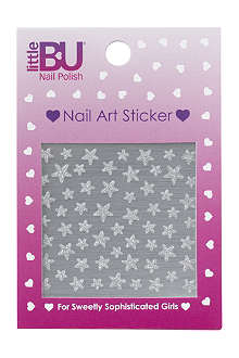 LITTLE BU Star nail art stickers