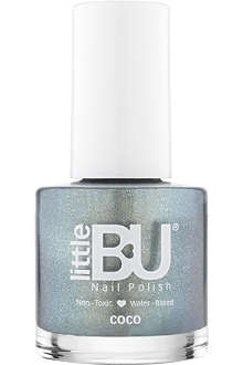 LITTLE BU Coco shimmer nail polish