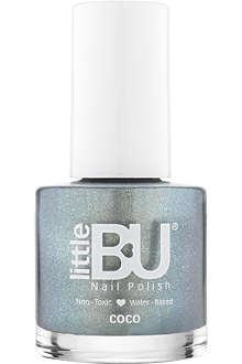 LITTLE BU Coco shimmer nail polish