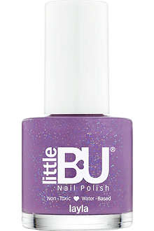 LITTLE BU Layla shimmer nail polish