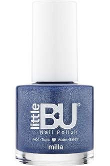 LITTLE BU Milla shimmer nail polish