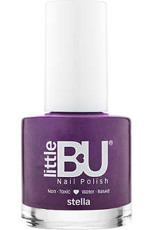 LITTLE BU Stella shimmer nail polish