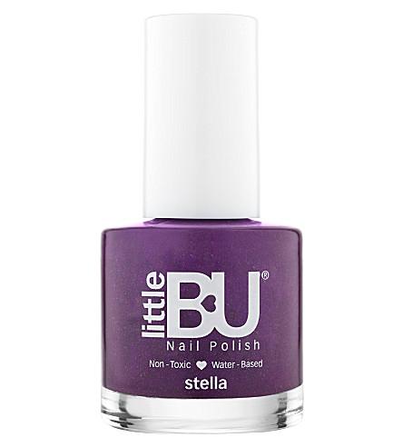 LITTLE BU Stella shimmer nail polish (Magenta