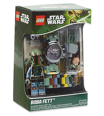 LEGO Boba Fett buildable watch