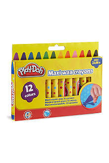 PLAYDOH Maxi wax crayons