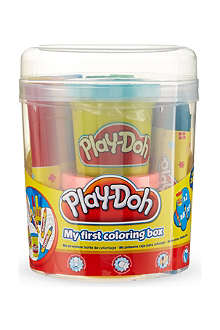 PLAYDOH My First Coluring box