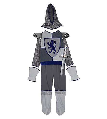 DRESS UP Crusader knight costume 6-8 years (Blue