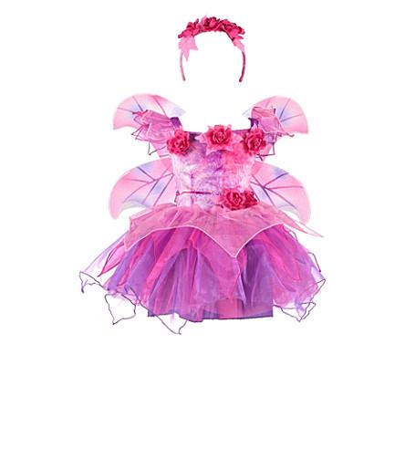 DRESS UP Fuschia fairy dress up costume set 3-8 years (Plum/cerise