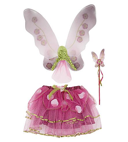 DRESS UP Sugar Plum Fairy dress up costume set 3 years (Plum/pink