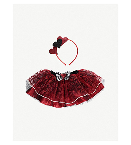 DRESS UP Queen of Hearts tutu costume set M/L