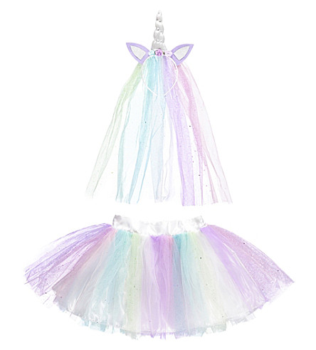 DRESS UP Unicorn tutu medium / large (Multi