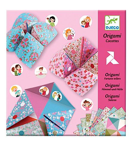 DJECO Fortune Teller Folds origami set