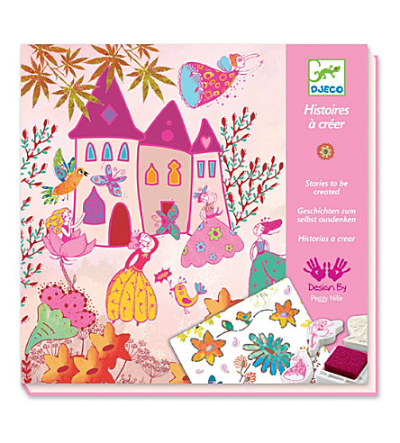 djeco create your own princess story kit selfridges com