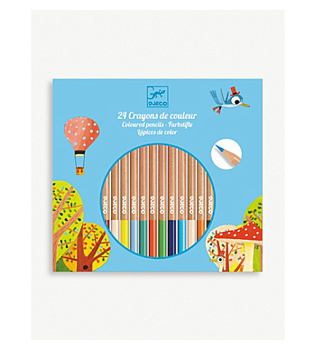 DJECO Coloured pencils set of 24