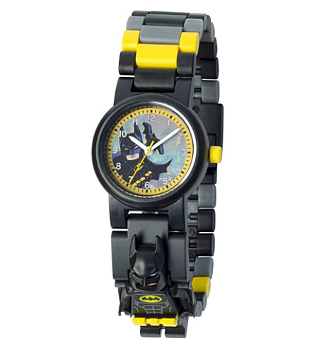 LEGO Batman Movie minifigure Batman link watch