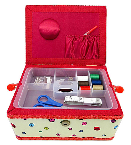 BUTTON BAG Large sewing box