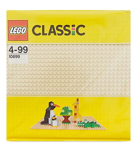 LEGO Classic sand baseplate 32 x 32