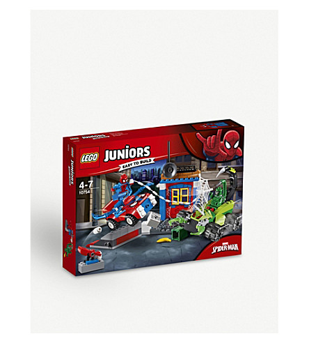 LEGO Junior Spiderman v Scorpian Showdown playset