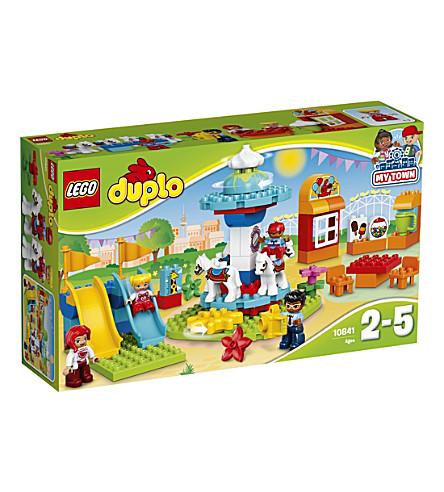 LEGO DUPLO 游乐场集