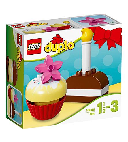 LEGO DUPLO我的第一个蛋糕