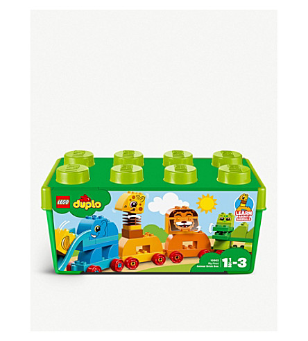 LEGO Duplo learn about animals playset