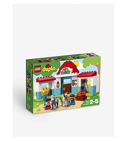 LEGO Town farm pony stable set