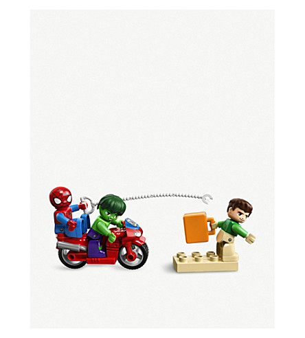 LEGO Spiderman, Hulk & Sandman playset