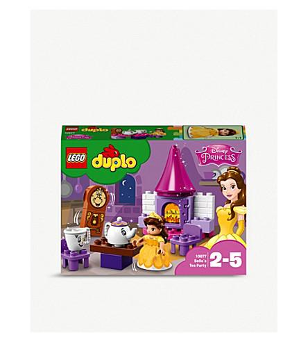 LEGO Duplo Princess Belle's tea party playset